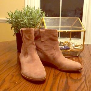 Rebecca Minkoff rose suede boots